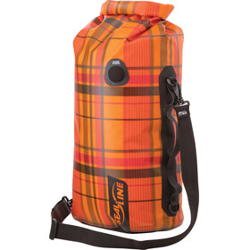 SealLine Discovery Deck Dry Bag 30l orange plaid